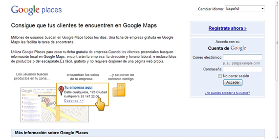 google places que es